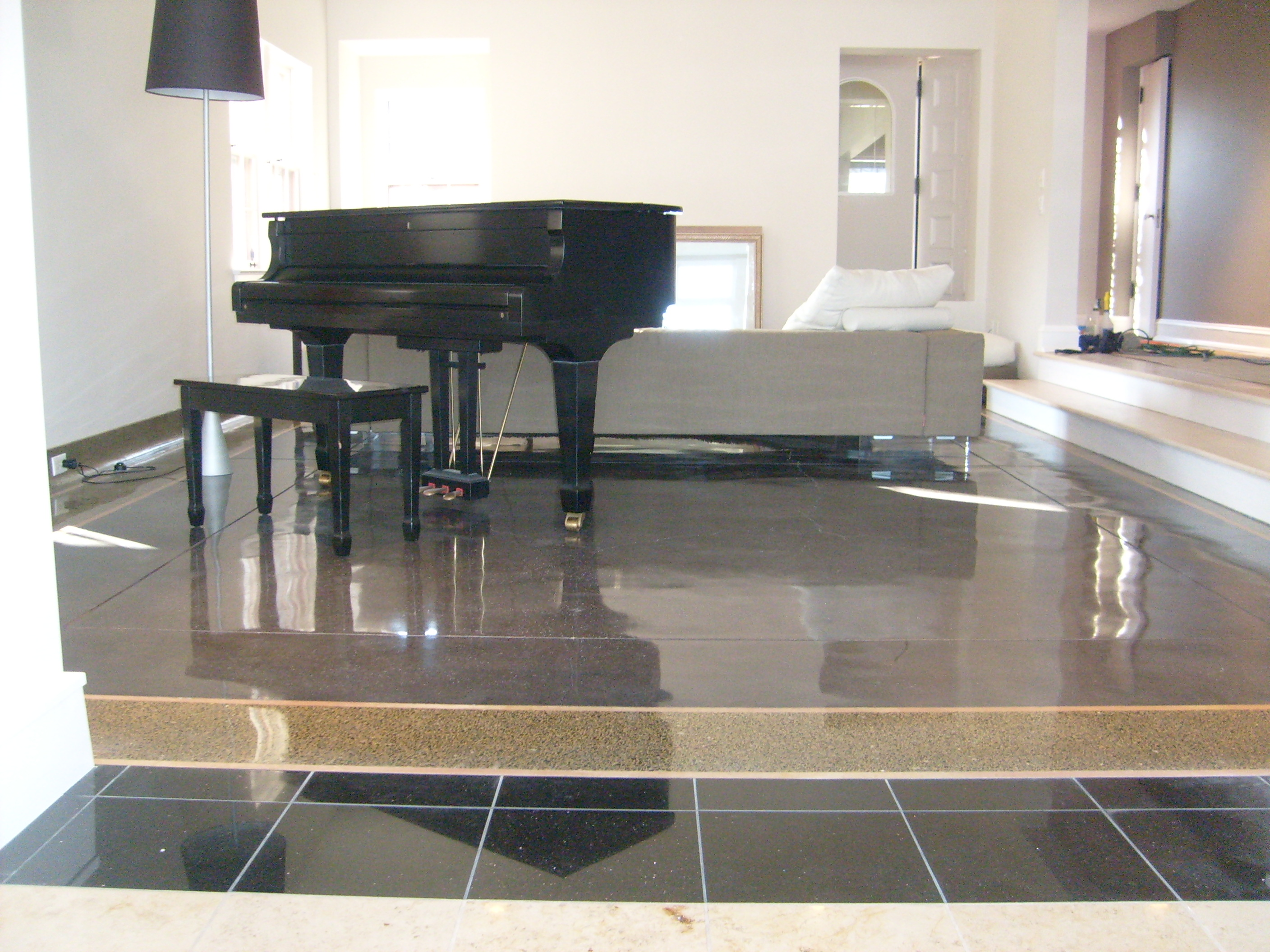 Polished Terrazzo Concrete Treatments Inc - How to maintain terrazzo floors